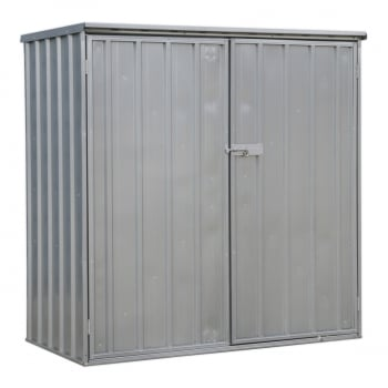 GSS150815 GALVANIZED STEEL SHED 1.5 X 0.8 X 1.5MTR