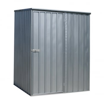GSS1515 GALVANIZED STEEL SHED 1.5 X 1.5 X 1.9MTR
