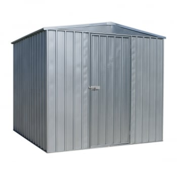 GSS2323 GALVANIZED STEEL SHED 2.3 X 2.3 X 1.9MTR