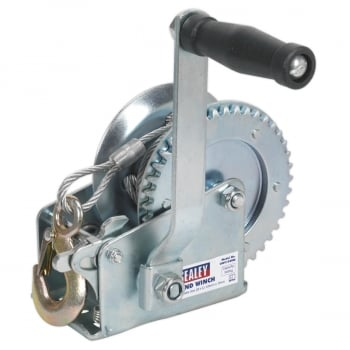GWC1200M GEARED HAND WINCH 540KG CAPACITY WITH CABLE