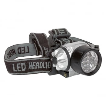 HT07LED HEAD TORCH 12 LED 3 X AAA CELL