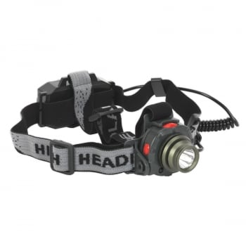 HT106LED HEAD TORCH 3W CREE LED AUTO SENSOR RECHARGEAB