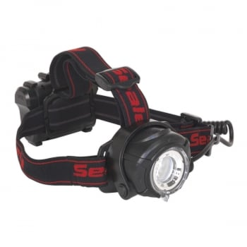 HT107LED HEAD TORCH 5W CREE XPG LED WITH ADJUSTABLE FO