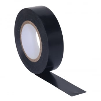 ITBLK10 PVC INSULATING TAPE 19MM X 20MTR BLACK PACK O