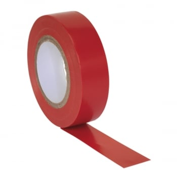 ITRED10 PVC INSULATING TAPE 19MM X 20MTR RED PACK OF