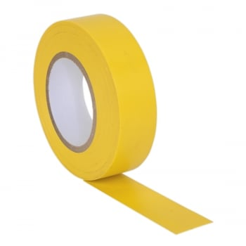 ITYEL10 PVC INSULATING TAPE 19MM X 20MTR YELLOW PACK