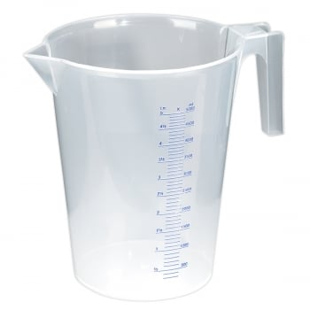 JT5000 MEASURING JUG TRANSLUCENT 5LTR