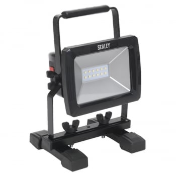LED084 RECHARGEABLE PORTABLE FLOODLIGHT 10W SMD LED