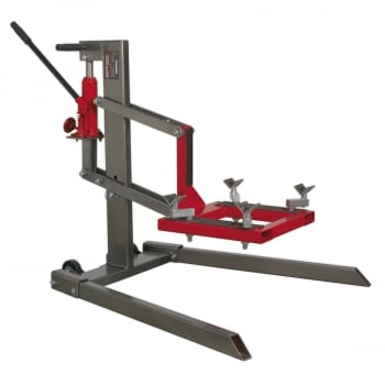 MCL500 SINGLE POST MOTORCYCLE LIFT 450KG CAPACITY