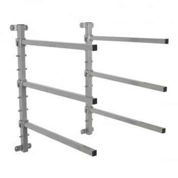 MK56 WALL MOUNTING FOLDING BUMPER RACK