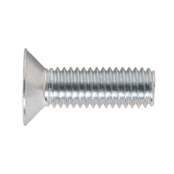MSC825 MACHINE SCREW M8 X 25MM COUNTERSUNK POZI ZINC