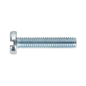 MSS420 MACHINE SCREW M4 X 20MM PAN HEAD SLOT ZINC DI