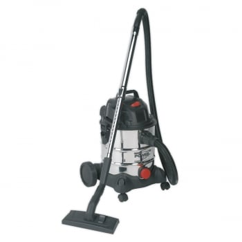 PC200SD VACUUM CLEANER INDUSTRIAL WET DRY 20LTR 125
