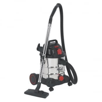 PC200SDAUTO VACUUM CLEANER INDUSTRIAL 20LTR 1400W/230V ST