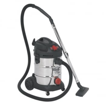 PC300SDAUTO VACUUM CLEANER INDUSTRIAL 30LTR 1400W/230V ST