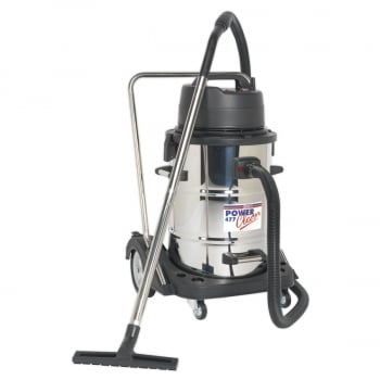 PC477 INDUSTRIAL WET DRY VACUUM CLEANER 77LTR STA