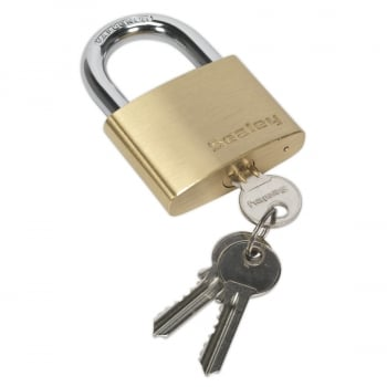 PL103 BRASS BODY PADLOCK 60MM