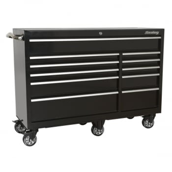 PTB142511 ROLLCAB 11 DRAWER 1425MM HEAVY-DUTY BLACK