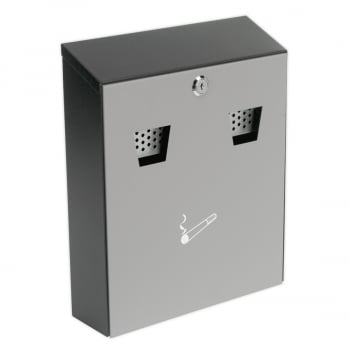 RCB01 CIGARETTE BIN WALL MOUNTING