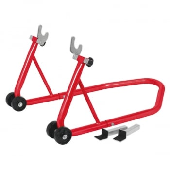 RPS1 UNIVERSAL REAR WHEEL STAND WITH RUBBER SUPPOR