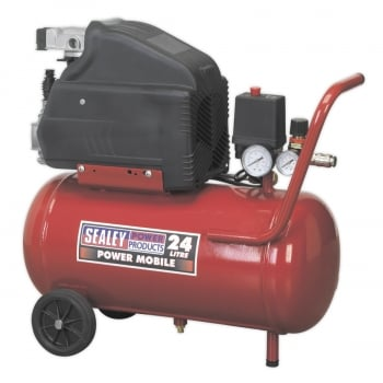 SA2415 COMPRESSOR 24LTR DIRECT DRIVE 1.5HP