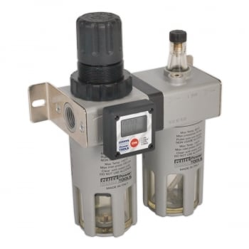 SA406 PROFESSIONAL AIR FILTER/REGULATOR/LUBRICATOR