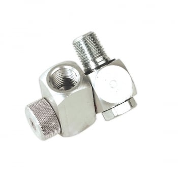 SA900 Z-SWIVEL AIR HOSE CONNECTOR WITH REGULATOR 1/