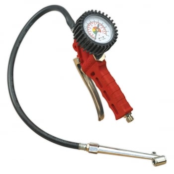 SA9312 TYRE INFLATOR WITH TWIN PUSH-ON CONNECTOR