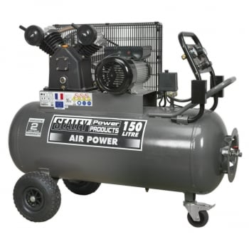 SAC3153B COMPRESSOR 150LTR BELT DRIVE 3HP WITH FRONT C