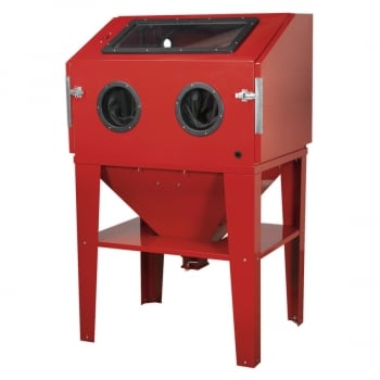 SB974 SHOT BLASTING CABINET DOUBLE ACCESS 960 X 720