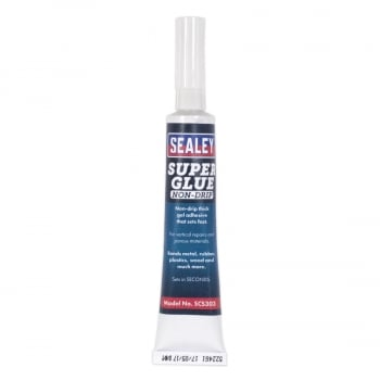 SCS303S SUPER GLUE NON-DRIP GEL 20G