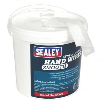 SCW3 HAND WIPES BUCKET 3LTR PACK OF 150