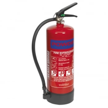 SDPE06 FIRE EXTINGUISHER 6KG DRY POWDER