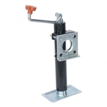 TB373 TRAILER JACK WITH WELD-ON SWIVEL MOUNT 250MM