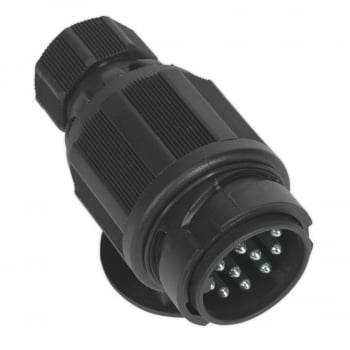 TB54 TOWING PLUG 13-PIN EURO PLASTIC 12V TWIN INLE
