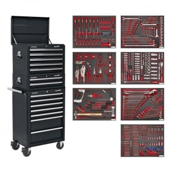 TBTPCOMBO2 TOOL CHEST COMBINATION 14 DRAWER WITH BALL BE