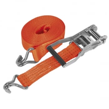 TD3008J RATCHET TIE DOWN 50MM X 8MTR POLYESTER WEBBIN