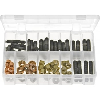 AB116 EXHAUST MANIFOLD STUDS  NUTS METRIC 72