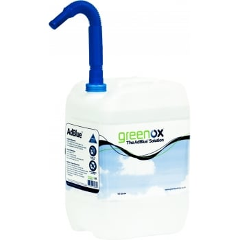 ADB10 GREENOX ADBLUE SOLUTION 10 LTR C/W SPOUT