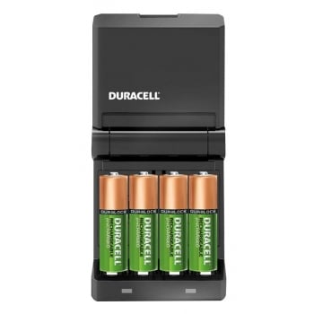 BAT185 DURACELL 45MIN CHARGER C/W 2AA AND 2AAA 8
