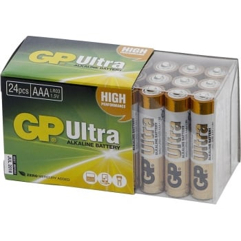 BAT301 GP BATTERIES ALKALINE 1.5V AAA