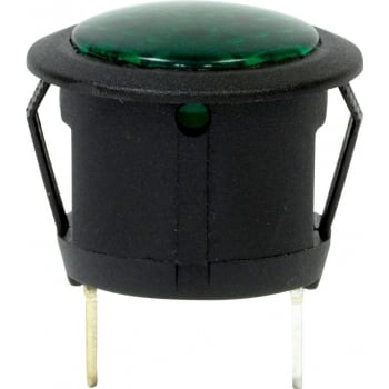 EC91A LED WARNING LIGHT - GREEN