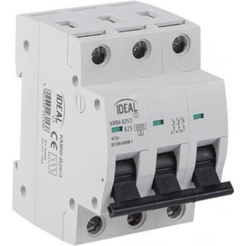 ERCB325 TRIPLE POLE CIRCUIT BREAKER 25A C TYPE