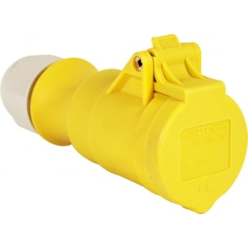 ERP69A 110V 16 AMP YELLOW SOCKET