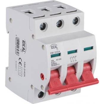 ERSD340 SWITCH DISCONNECTOR 3POLE 40A