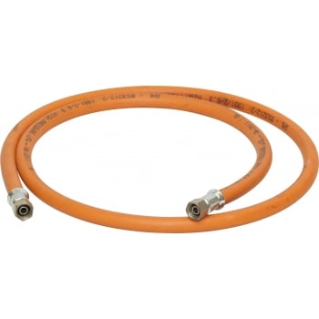 GAS37 GAS HOSE 6MMX3M 1/4 BSP FEMALE FITTINGS