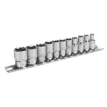 AK2670 SOCKET SET 11PC 1/4 SQ DRIVE 6PT WALLDRIVE