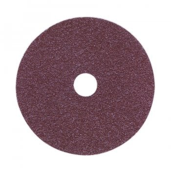 FBD10024 SANDING DISC FIBRE BACKED 100MM 24GRIT PACK