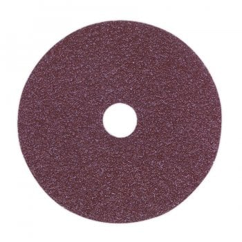 FBD10036 SANDING DISC FIBRE BACKED 100MM 36GRIT PACK