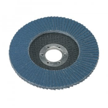 FD11580 FLAP DISC ZIRCONIUM 115MM 22MM BORE 80GRIT